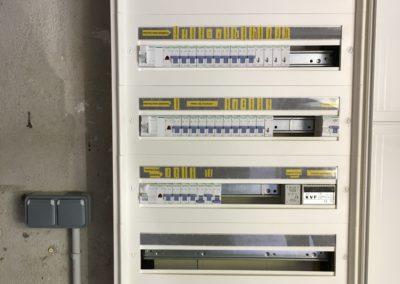 Coffret électrique installé par SER