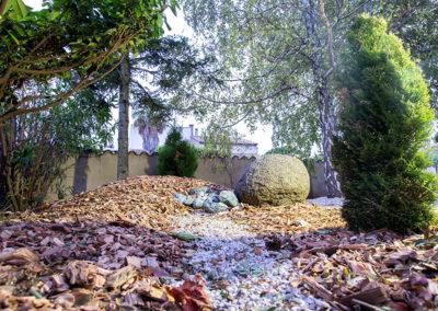 Aménagement d'un jardin zen et autonome par Gingko