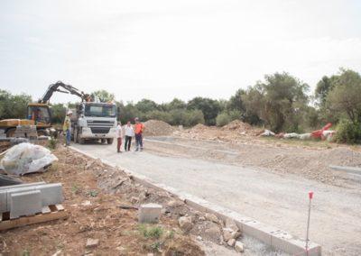 Travaux d'aménagement d'une ZAC sur l'Hérault