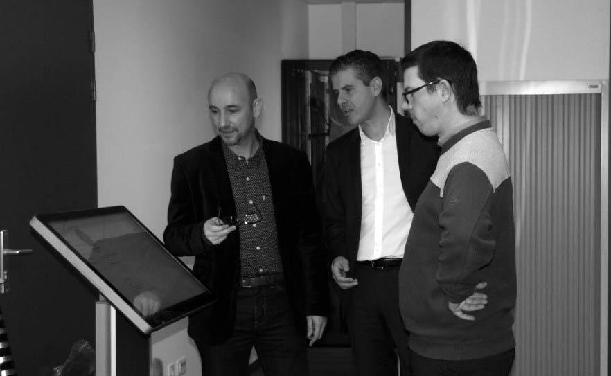 Equipe dirigeante Inovatek : Jacques Benaim, Nicolas Gravet, Cédic Hamard
